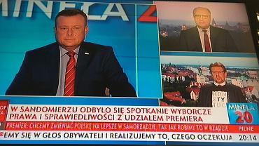 Poseł Piotr Misiło w TVP Info