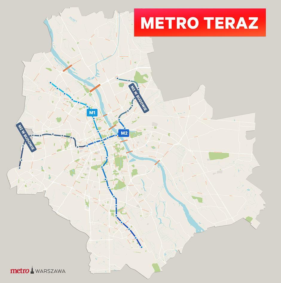Wybory samorządowe 2018. Plan na metro Patryka Jakiego i Rafała Trzaskowskiego