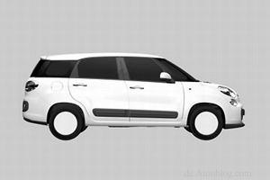 Fiat 500XL - szkice patentowe wyciek�y do sieci