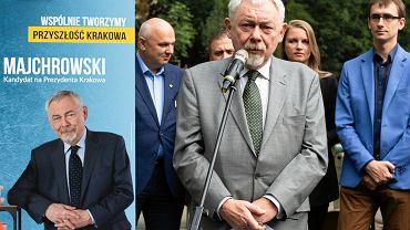 Wybory samorządowe 2018 w Krakowie. Jacek Majchrowski obiecuje więcej parków i basenów