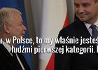 Prezydent odnosi się do słów prezesa PiS