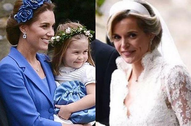 Kate Middleton Pojawiła Się Na ślubie Przyjaci 243 łki Suknia