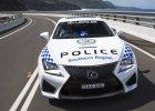 To si� nazywa radiow�z! | Lexus RC-F na s�u�bie