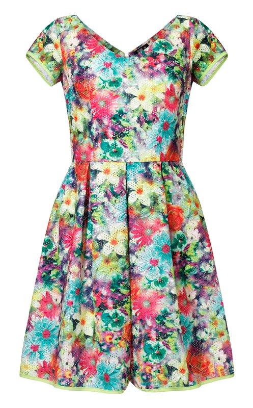6d8c94ffa6 Sukienki w kwiaty z wiosenno - letnich kolekcji - zdjęcie nr 23