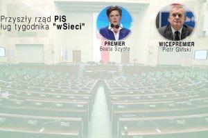 Ministerstwo Sprawiedliwo�ci dla Wassermann, Macierewicz szefem MON. Czy tak b�dzie wygl�da� rz�d PiS?