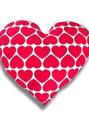 Poduszka serce w małe serca