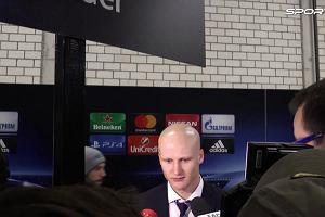 LM. Borussia - Legia. Czerwiński: Nie byliśmy w stanie zapobiec utracie 8 bramek