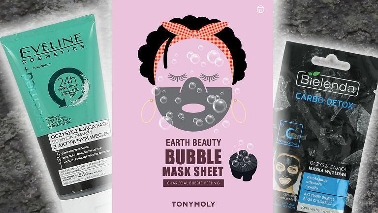 Kosmetyki z węglem dla każdego rodzaju cery i na każdą kieszeń