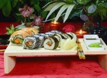 Romantyczne danie dla dwojga sushi - ugotuj