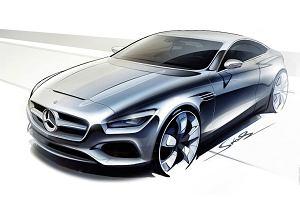 Pierwsze szkice | Mercedes S klasa coupe
