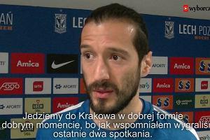 Lech Poznań. Nikola Vujadinović: Wisła Kraków to dobra drużyna, ale my jesteśmy w dobrej formie