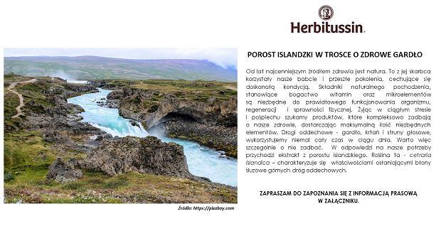 Porost islandzki w trosce o zdrowe gardło