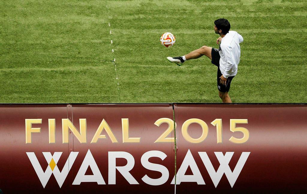 Finał Ligi Europy. Stadion Narodowy w Warszawie.