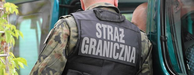 Obóz uchodźców przy granicy z Polską. Niewpuszczeni Czeczeni protestują