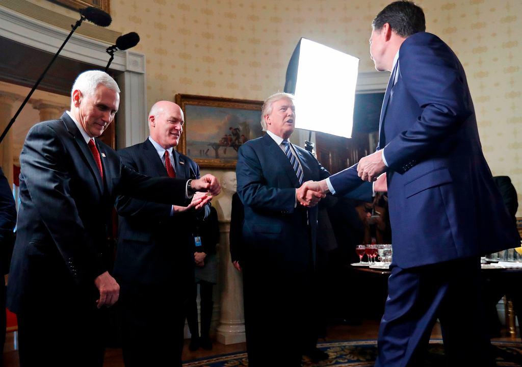 Były szef FBI James Comey jeszcze przed tym, jak został zwolniony przez Donalda Trumpa