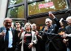 Komorowski i Mazowiecki: toast za wolno�� na pl. Konstytucji