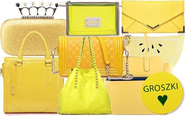 d2207b32d4854 Słonecznie  żółte torebki - ponad 90 propozycji