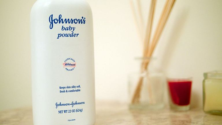 Puder marki Johnson & Johnson