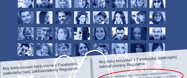 Facebook prosi użytkowników o wypełnienie ankiety i akceptację regulaminu. Jeśli tego nie zrobisz, będziesz musiał usunąć konto
