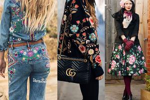 Kwiatowy wzór na zimę - sprawdź modne inspiracje!