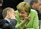 Niemiecka prasa: Kanclerz Merkel ch�tnie wys�ucha w Warszawie hymn�w pochwalnych dla Zachodu i Brukseli