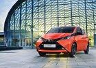 Nowa Toyota Aygo ta�sza od poprzedniczki