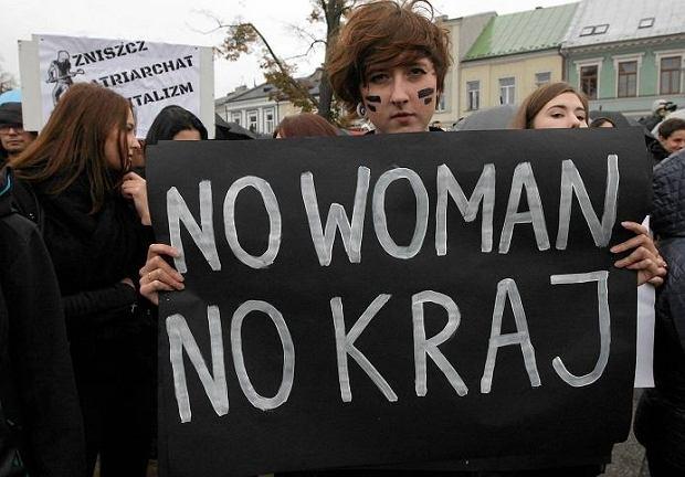 Czarny protest w 2016 roku