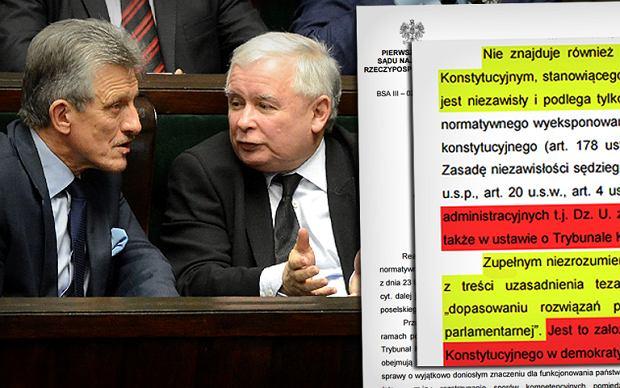 Opina S�du Najwy�szego o nowelizacji ustawy o TK