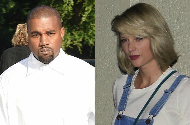 """To pierwszy raz, kiedy Kanye oficjalnie zabiera głos w sprawie """"taśmy kompromitującej Taylor"""" ujawnionej przez jego małżonkę. Raper nie mógł powstrzymać się podczas koncertu."""