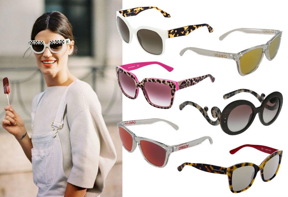Lista zakupów: okulary przeciwsłoneczne
