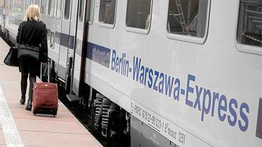 PKP Intercity, pociąg relacji Berlin-Warszawa (zdj. ilustracyjne)