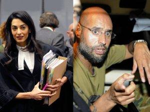 Amal Clooney, Saif Kaddafi