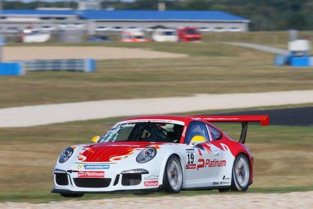 Porsche 911 GT3 Cup na torze Pannonia Ring