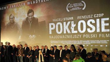 Premiera filmu ''Pokłosie''. Warszawa - kino Atlantic