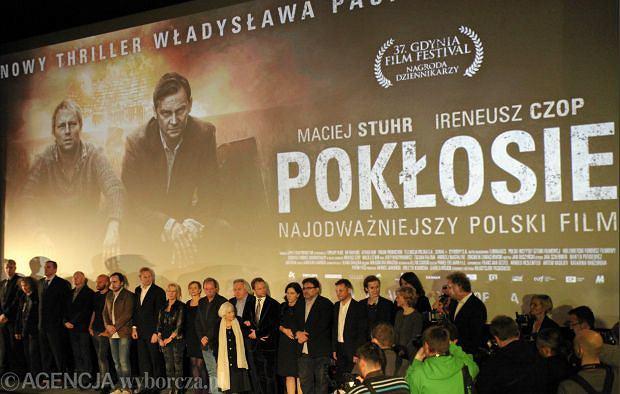 Premiera filmu ''Pok�osie''. Warszawa - kino Atlantic