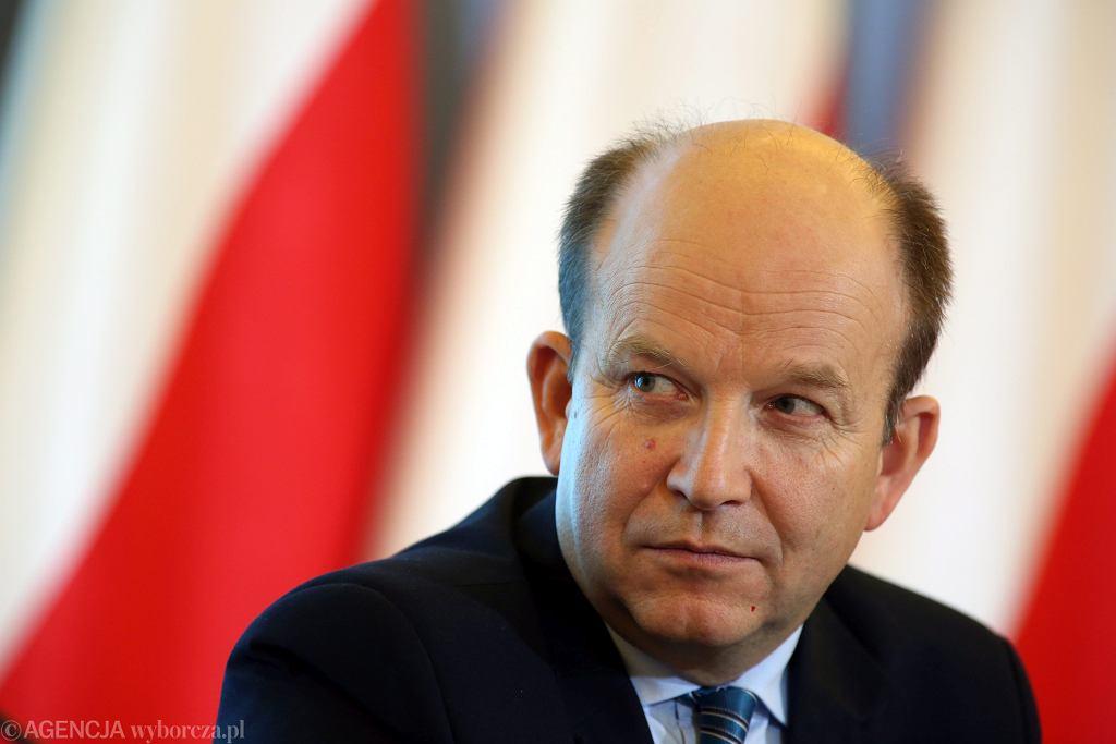 Minister zdrowia Konstanty Radziwiłł (fot . Sławomir Kamiński / Agencja Gazeta)