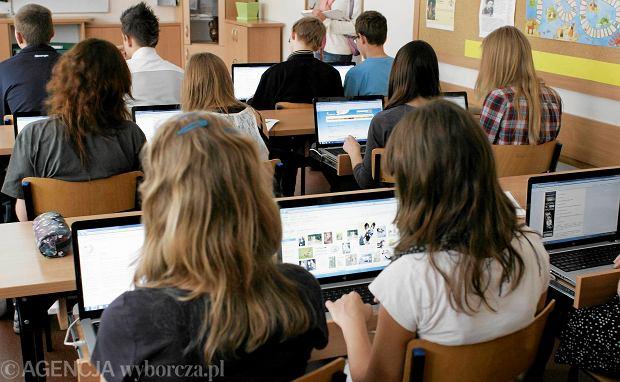 Lekcja z Gimnazjum nr w Olsztynie