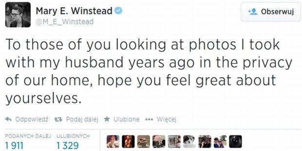 Wpis M.E. Winstead