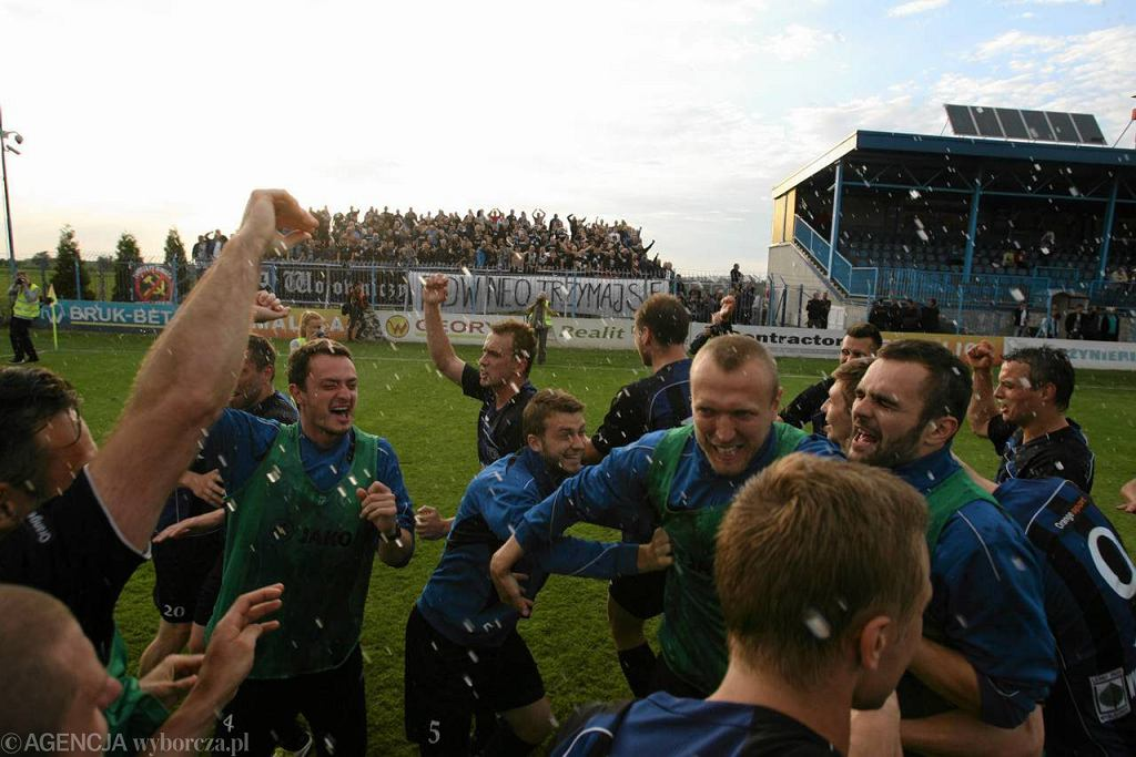 Zawisza pokonał 1:0 w Niecieczy Termalikę