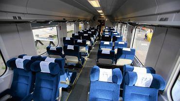 Prezentacja zmodernizowanych wagonów PKP Intercity