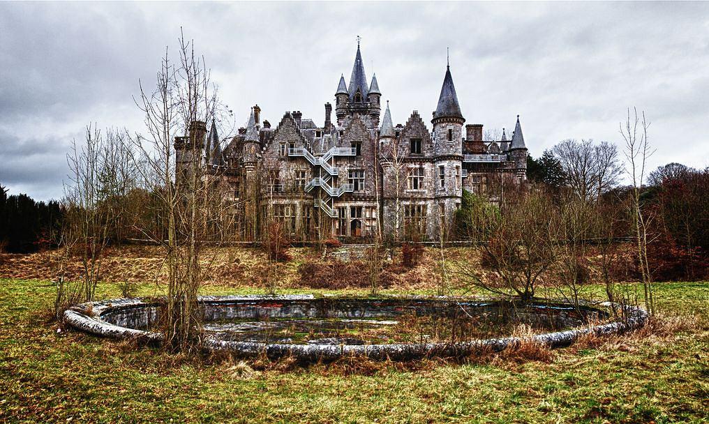 Chateau de Noisy, Celles (Belgia)