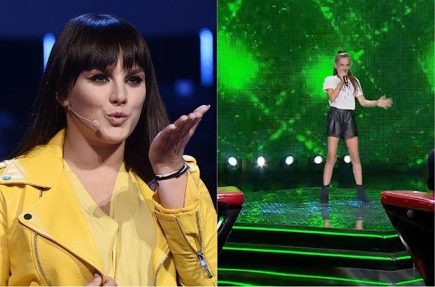 """W """"The Voice Kids"""" wystąpiła dziewczynka, która wykonała utwór Farnej. Wokalistka nie kryła swojego podziwu."""