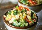 Komosa ry�owa z kurczakiem i warzywami - Zdj�cia