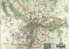 Tak Niemcy podzielili Poznań na 17 dzielnic [INTERAKTYWNY PLAN]