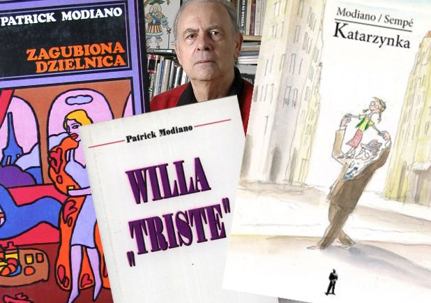 Patrick Modiano laureatem literackiej Nagrody Nobla