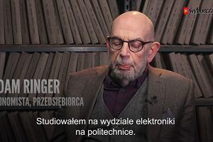 """""""Runęła lawina rzygowin. Nagle było wolno"""". Adam Ringer o antysemickej nagonce i jego Marcu '68"""
