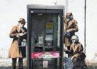 Czy to nowy Banksy? Mural ju� po kilkunastu godzinach zosta� atrakcj� turystyczn�