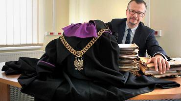 Jarosław Gwizdak, prezes Sądu Rejonowego Katowice Zachód, zdobywca nagrody Obywatelskiego Sędziego Roku.