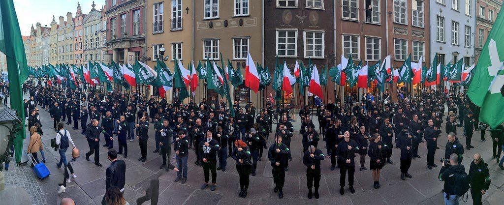 Członkowie ONR w Gdańsku