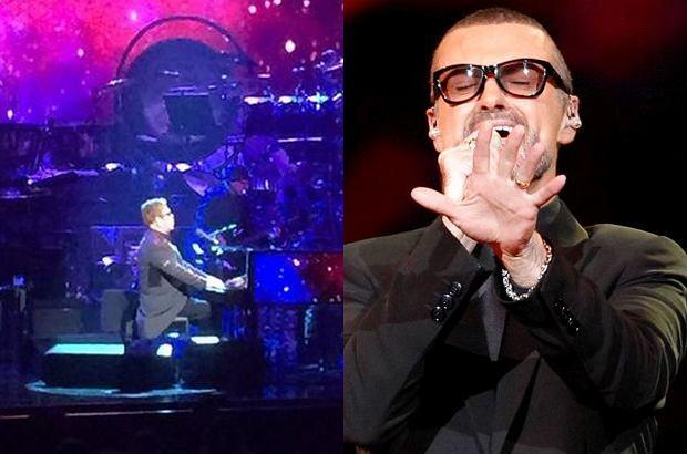 Elton John nie mógł powstrzymać łez, kiedy śpiewał piosenkę dedykowaną zmarłemu niedawno George'owi Michaelowi.